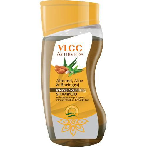 Купить VLCC, Шампунь для волос питательный Almond, Aloe & Bhringraj Intense Nourishing Shampoo, 100 мл