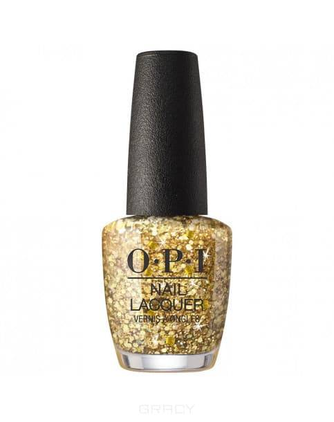 OPI, Лак для ногтей Nail Lacquer Nutcracker 2018, 15 мл (15 цветов) Gold Key to the Kingdom лак для ногтей orly smartgels nail lacquer 008 цвет 008 lift the veil variant hex name f7c5c8