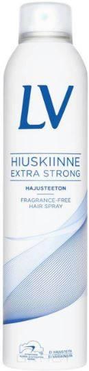 LV, Лак для волос экстра сильной фиксации без запаха, 300 мл химия для волос щадящая