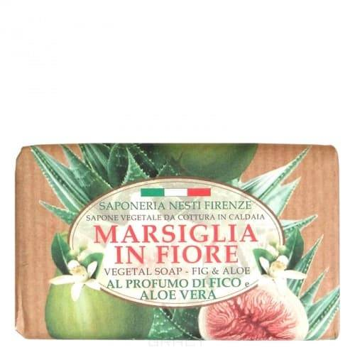 Nesti Dante, Мыло Инжир и алое Marsiglia in Fiore, 125 грГели для душа, мыло, скрабы<br><br>