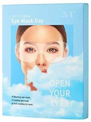Dr. Gloderm, Дневная глиттерная маска для глаз разглаживание морщин глубокое очищение удаление кутикулы омолаживание уменьшение отечности и темных кругов под глазами разглаживание