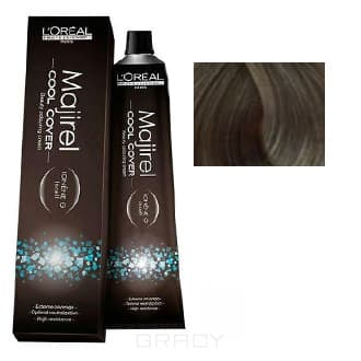 LOreal Professionnel, Краска для волос Majirel Cool Cover, 50 мл (33 оттенка) 9.11 очень светлый блондин глубокий пепельныйОкрашивание<br><br>