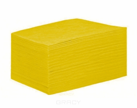 Купить Igrobeauty, Полотенце 45х90 см. пл. 50 г/м2 Желтое, вафельное, поштучного сложения, 50 шт