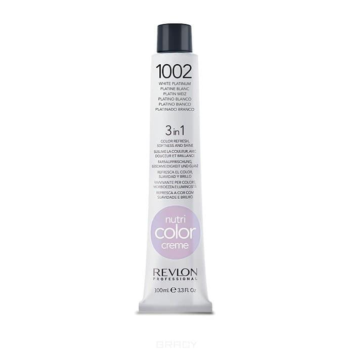 Купить Revlon, Крем-краска для волос 3 в 1 Nutri Color Creme, (52 оттенка) 1002 Платиновый