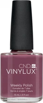 CND (Creative Nail Design), Винилюкс Профессиональный недельный лак VINYLUX™ Weekly Polish (54 оттенка) 15 мл # 129 (Married To The Mauve) 10 pcs creative u shape spill proof nail polish stickers tool manicure nail sticker finger cover tool