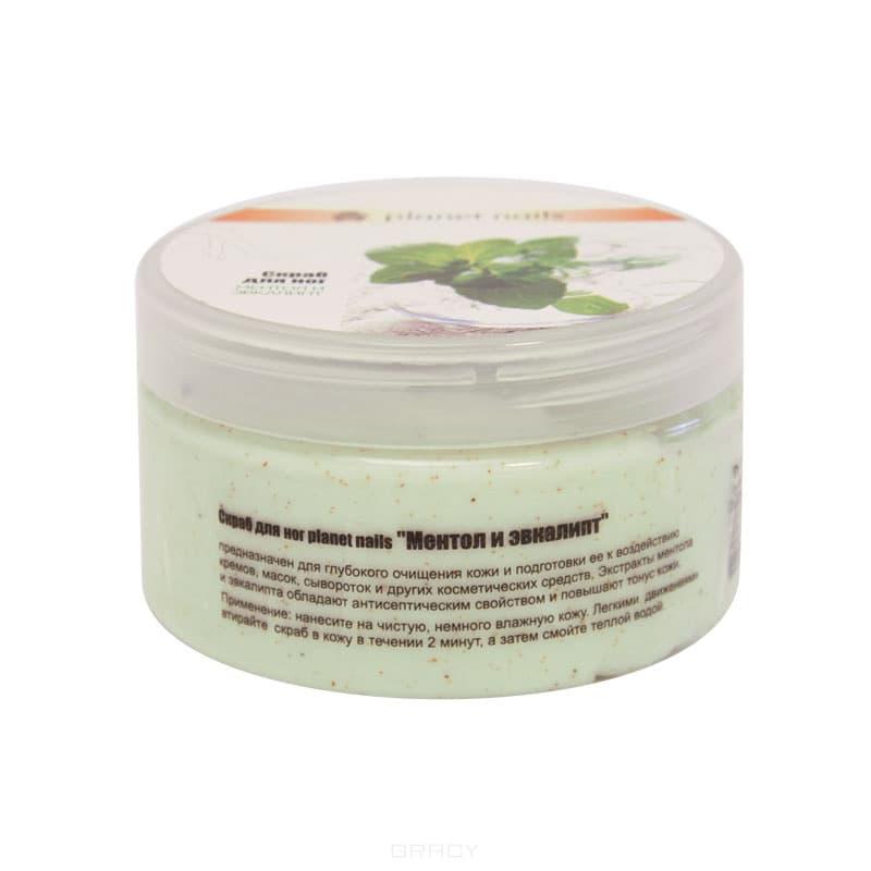 Скраб для ног Ментол и эвкалипт, 230 млПредназначен для глубокого очищения кожи и подготовки её к воздействию кремов, масок, сывороток и других косметических средств. Экстракты ментола и эвкалипта обладают антисептическим свойством и повышают тонус кожи.&#13;<br>&#13;<br>  &#13;<br>&#13;<br>&#13;<br>Способ применения:&#13;<br>&#13;<br>Нанесите на чистую, немного влажную кожу. Легкими движениями втирайте скраб в кожу в течении 2 минут, а затем смойте теплой водой.<br>