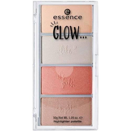 Essence, Палетка хайлайтеров Glow Like... Highlighter Palette 01 essence палетка хайлайтеров glow like highlighter palette 01