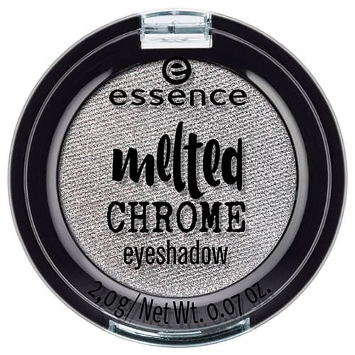 Essence, Тени для век Melted Chrome, 2 гр (8 тонов) №04, холодный серебряный фото