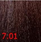 Купить Kaaral, Крем-краска для волос Baco Permament Haircolor, 100 мл (106 оттенков) 7.01 натурально-пепельный блондин