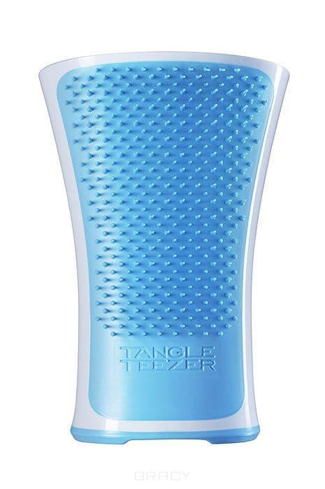 Расческа для волос Aqua Splash Blue LagoonПрофессиональная распутывающая расческа Tangle Teezer &amp;amp;quot;Aqua Splash&amp;amp;quot; идеально подходит для всех типов волос. &#13;<br>Оригинальная форма зубчиков обеспечивает двойное действие и позволяет быстро и безболезненно расчесать влажные и сухие волосы. Расческа незаменима при мытье головы, принятии душа, морских ваннах и спа-процедурах, равномерно распределяет на волосах средства для ухода.&#13;<br> &#13;<br>Уникальная эргономичная закругленная форма и нескользящая поверхность корпуса гарантируют надежность и удобство использования в воде.<br>