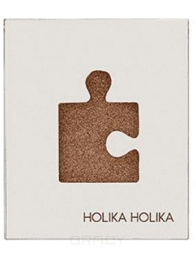 Купить Holika Holika, Piece Matching Shadow Glitter Eyes Тени для глаз блестящие, 2 г (13 оттенков) Холика Холика Коричнево-золотой GGD01 Brown Sugar