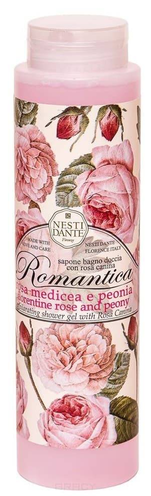Nesti Dante, Гель для душа Флорентийская роза и пион Florentine Rose &amp; Peony, 300 млЛиния Romantica - романтика<br><br>