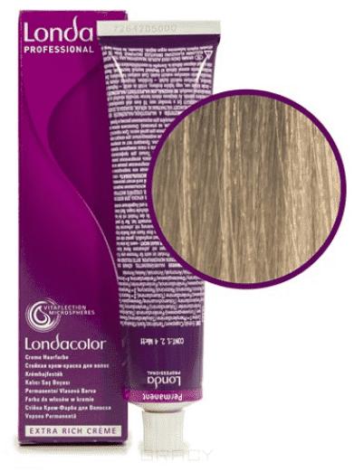 Londa, Краска Лонда Профессионал Колор для волос Londa Professional Color (палитра 124 цвета), 60 мл 10/16 яркий блонд пепельно-фиолетовый краска для волос кеен палитра цветов фото