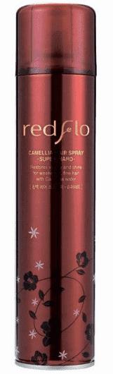 Flor de Man, Лак для укладки волос с камелией Редфло, суперфиксация Redflo Camellia Hair Spray - Super Hard, 300 мл спрей flor de man redflo hair setting mist объем 210 мл