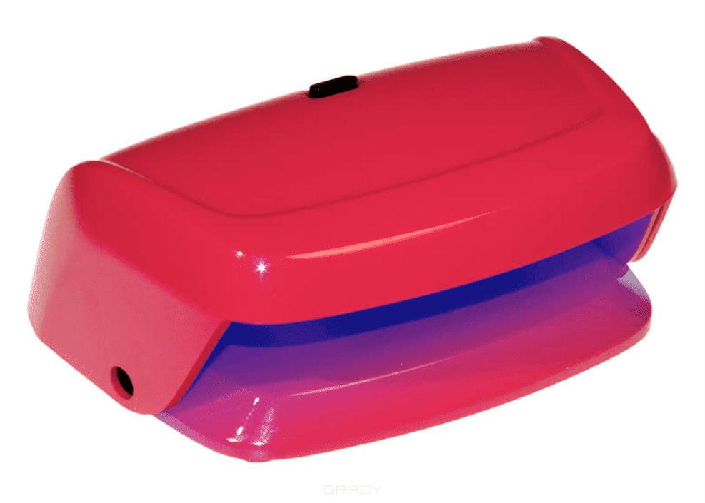 Planet Nails, LED лампа Pretty (2 цвета), 1 шт, КрасныйОборудование для салонов<br><br>