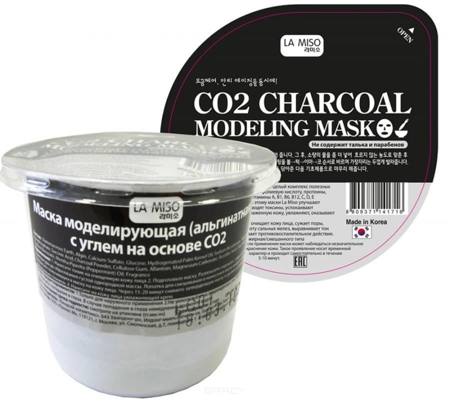 La Miso, Modeling Mask Charcoal Маска для лица моделирующая (альгинатная) с углем, для жирной и комбинированной кожи Ла Мисо, 28 гр все цены