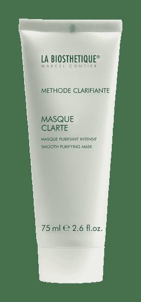 La Biosthetique, Очищающая маска для жирной и воспаленной кожи на основе белой глины Methode Clarifante Masque Clarte, 75 мл la biosthetique глубоко очищающая кожу маска крем эксфолиант для всех типов кожи включая чувствительную masque peeling 200 мл