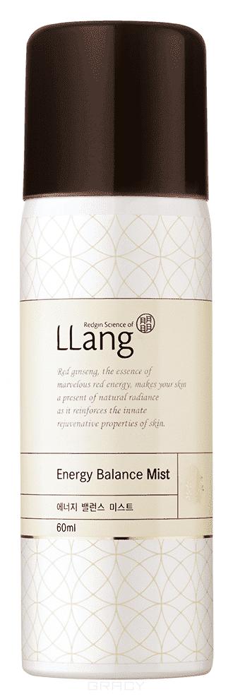 LLang, Увлажняющий мист Энергия Красного Женьшеня Energy Balance Mist, 60 мл energy