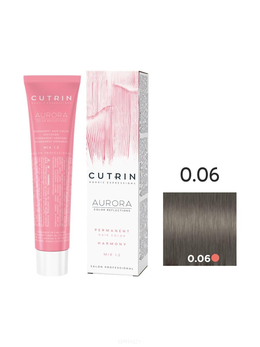 Cutrin, Кутрин краска для волос Aurora Аврора (SCC-Reflection) (палитра 97 оттенков), 60 мл 0.06 Платиновый жемчуг сумка ice play сумка через плечо