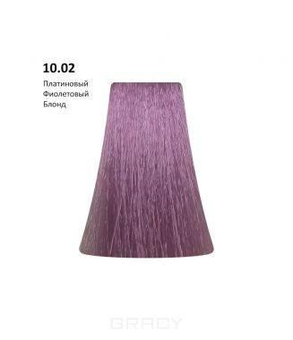 Купить BB One, Перманентная крем-краска Picasso (153 оттенка) 10.02Platinum Violet Blond/Платиновый Фиолетовый Блондин