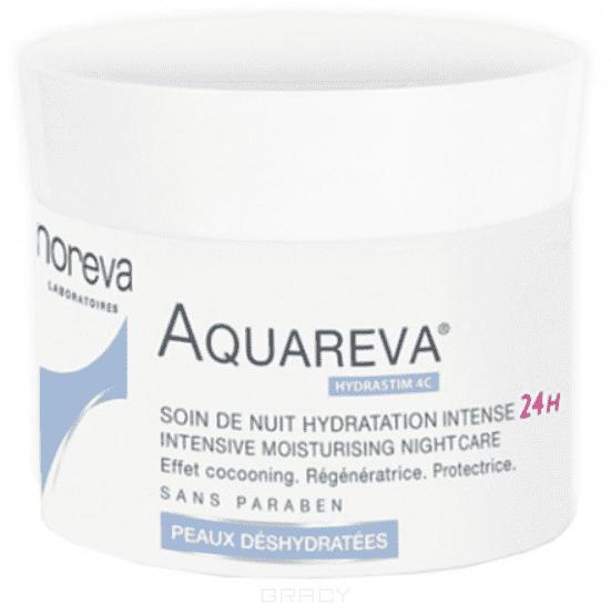 Noreva, Интенсивный ночной увлажняющий уход Aquareva, 50 мл noreva увлажняющая экспресс маска aquareva 50 мл
