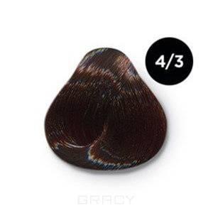 Купить OLLIN Professional, Перманентная крем-краска Ollin Сolor 60 мл ( 96 оттенков) 4/3 шатен золотистый