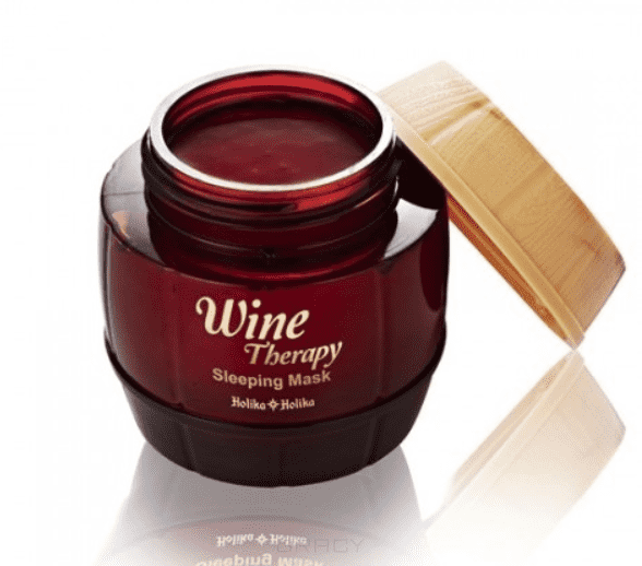 Holika Holika, Маска для лица ночная Красное вино Wine Therapy Sleeping Mask Red Wine, 120 мл sw ud01 portable detachable red wine decanter aerator filter red transparent