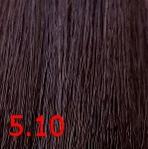 Купить Kaaral, Крем-краска для волос Baco Permament Haircolor, 100 мл (106 оттенков) 5.10 светло пепельный каштан