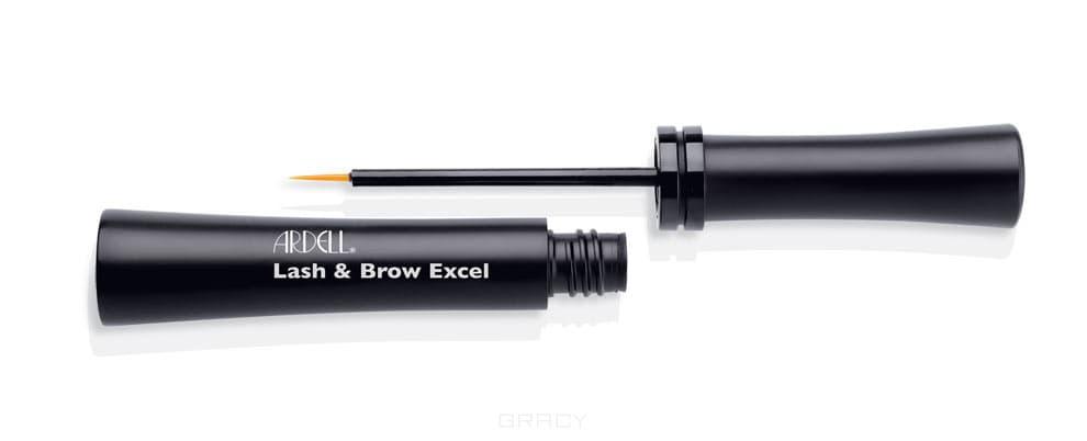 Средство для усиления роста ресниц и бровей Lash & Brow Excel, 7 мл средство от поедания фекалий 8in1 excel deter 100 таблеток