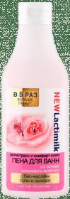 Пена для ванн Антистресс и комфорт кожи, 400 млОписание:&#13;<br> &#13;<br>Побалуйте себя неповторимыми минутами наслаждения и комфорта, нежась в теплой ванне с воздушной пеной на основе шёлкового молочка с био-маслами розы и орхидеи, которая подарит коже нежность и гладкость, а изысканный цветочный аромат поможет максимально расслабиться и отдохнуть.&#13;<br> &#13;<br> Шёлковое молочко обеспечивает нежный уход и мягкое очищение кожи, сохраняя её естественный уровень увлажненности. Обладает восстанавливающим и регенерирующим свойствами, придаёт коже мягкость, упругость и эластичность.&#13;<br> &#13;<br> Био-масло розы увлажняет и защищает кожу от негативного воздействия окружающей среды.&#13;<br> &#13;<br>Био-масло орхидеи снимает усталость и мышечное напряжение, улучшает сон и общее самочувствие.<br>