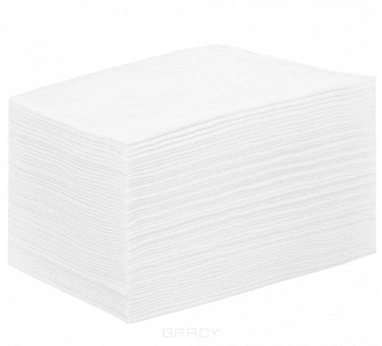 цена Igrobeauty, Простыня 160 х 200 см, 25 г./м2 материал SMS, 25 шт (2 цвета), 25 шт, Белый онлайн в 2017 году