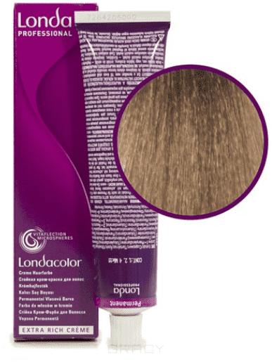 Londa, Краска Лонда Профессионал Колор для волос Londa Professional Color (палитра 124 цвета), 60 мл 9/96 очень светлый блонд сандрэ фиолетовый краска для волос кеен палитра цветов фото