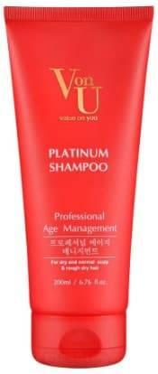 Купить Von U, Шампунь для волос с платиной Platinum Shampoo, 200 мл
