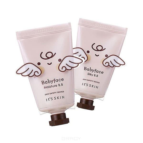 Купить It's Skin, Babyface BB Cream ББ-крем увлажняющий Итс Скин, 35 г (2 тона), 35 г, 02 Silky (сияние)
