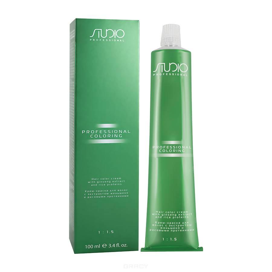 Крем-краска для волос с экстрактом женьшеня и рисовыми протеинами Studio Professional, 100 мл (2 оттенка) цены онлайн