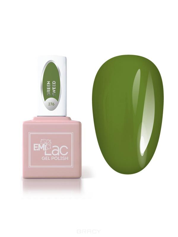 Купить E.Mi, Гель-лак для ногтей, E.MiLac №276 CG Зеленый твид