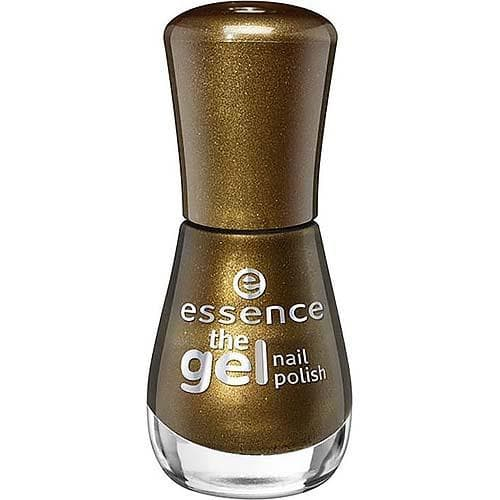 Essence, Лак для ногтей The Gel Nail, 8 мл (33 оттенка) №106, оливковый металлик гель лак для ногтей rimmel super gel nail polish