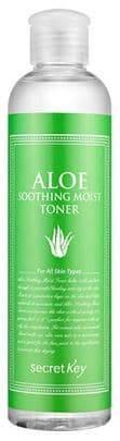 Secret Key, Aloe Soothing Moist Toner Увлажняющий тоник для лица с экстрактом алоэ, 248 мл тоник secret key rose floral softening toner объем 248 мл