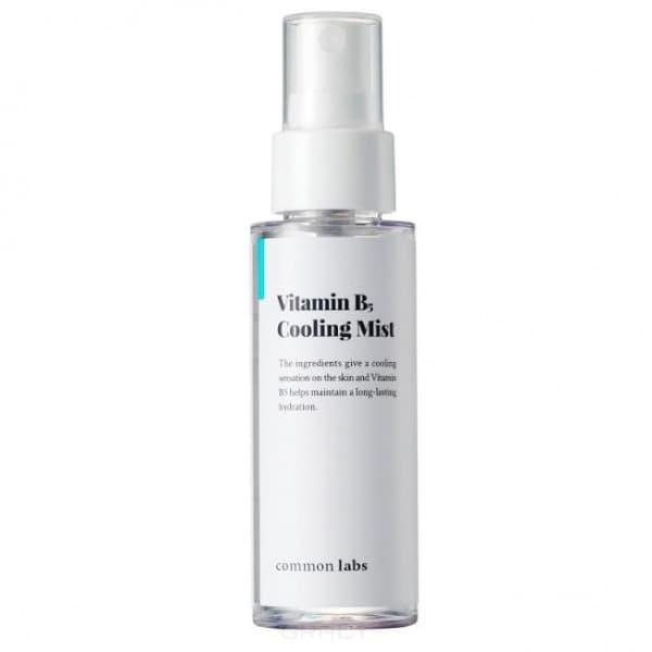 Common Labs, Охлаждающий увлажняющий мист с витамином B5 Vitamin B5 Cooling Mist, 50 мл vitamin d3