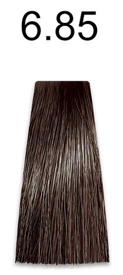 Купить Kaaral, Стойкая безаммиачная крем-краска с гидролизатами шелка Baco Soft Ammonia Free, 60 мл (42 оттенка) 6.85 коричнево-махагоновый темный блондин