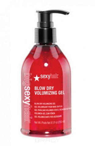 Купить Sexy Hair, Гель для укладки волос феном Blow Dry Volumizing Gel Big Time Blow Dry Gel