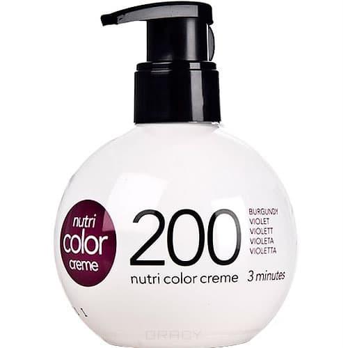 Revlon, Крем-краска 3 в 1 Nutri Color Creme, (29 оттенков) 200 ФиолетовыйОкрашивание волос Revlonissimo Colorcosmetique, Hight Coverage, Nutri Color Creme и др.<br><br>