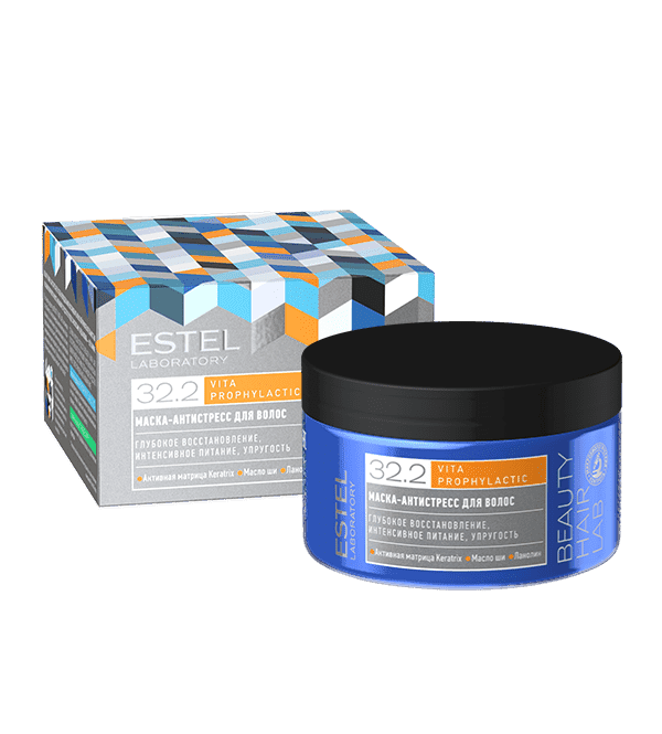 Estel, Beauty Hair Lab Маска-антистресс для волос Эстель Vita Prophylactic Mask, 250 мл шампунь антистресс для волос estel beauty hair lab 250 мл