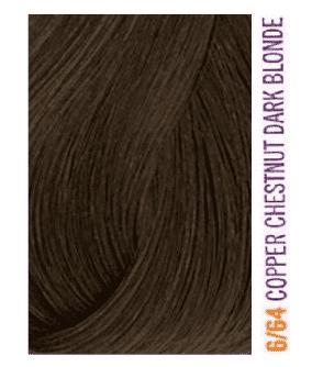 Lakme, Крем-краска для волос тонирующая Gloss, 60 мл (54 оттенка) 6/64 Темно-белокурый коричневый медно-красный фото