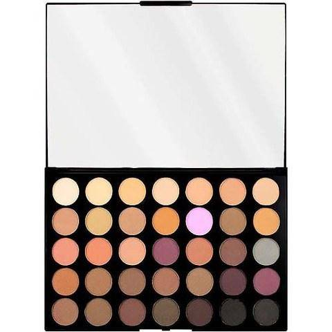 Купить MakeUp Revolution, Палетка теней Pro HD Palette Amplified 35, 30 гр (7 вариантов) Neutrals Warm
