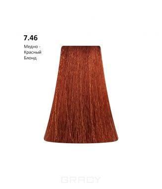Купить BB One, Перманентная крем-краска Picasso (153 оттенка) 7.46Copper Red Blond Медно- Красный Блондин