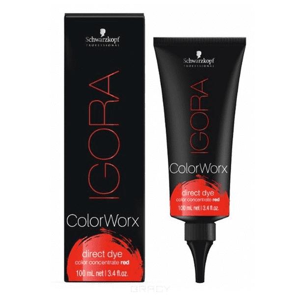 Igora Color Worx, 100 мл (7 оттенков + белый)Игора ColorWorx - это ультрамодный краситель для смелых цветовых эффектов, который выдержит до 20 раз мытья волос. Igora ColorWorx доступен в 7 оттенках + 1 белый для разбавления . &#13;<br>&#13;<br> &#13;<br>&#13;<br>&#13;<br>Оттенки включают &#13;<br>&#13;<br>&#13;<br>красный&#13;<br>&#13;<br>&#13;<br>оранжевый,&#13;<br>&#13;<br>&#13;<br>желтый&#13;<br>&#13;<br>&#13;<br>зеленый&#13;<br>&#13;<br>&#13;<br>синий&#13;<br>&#13;<br>&#13;<br>фиолетовый&#13;<br>&#13;<br>&#13;<br>розовый&#13;<br>&#13;<br>&#13;<br>белый.&#13;<br>&#13;<br>&#13;<br> &#13;<br>&#13;<br>&#13;<br>Применение: &#13;<br>&#13;<br>&#13;<br>применять Igora ColorWorx непосредственно на светлые или предварительно осветленные волосы. Для получения мягких пастельных тонов необходимо смешать желаемый для разбавления оттенок ИГОРА ColorWorx с ИГОРА ColorWorx Белый. Результат зависит от исходного состояния и цвета волос.<br>