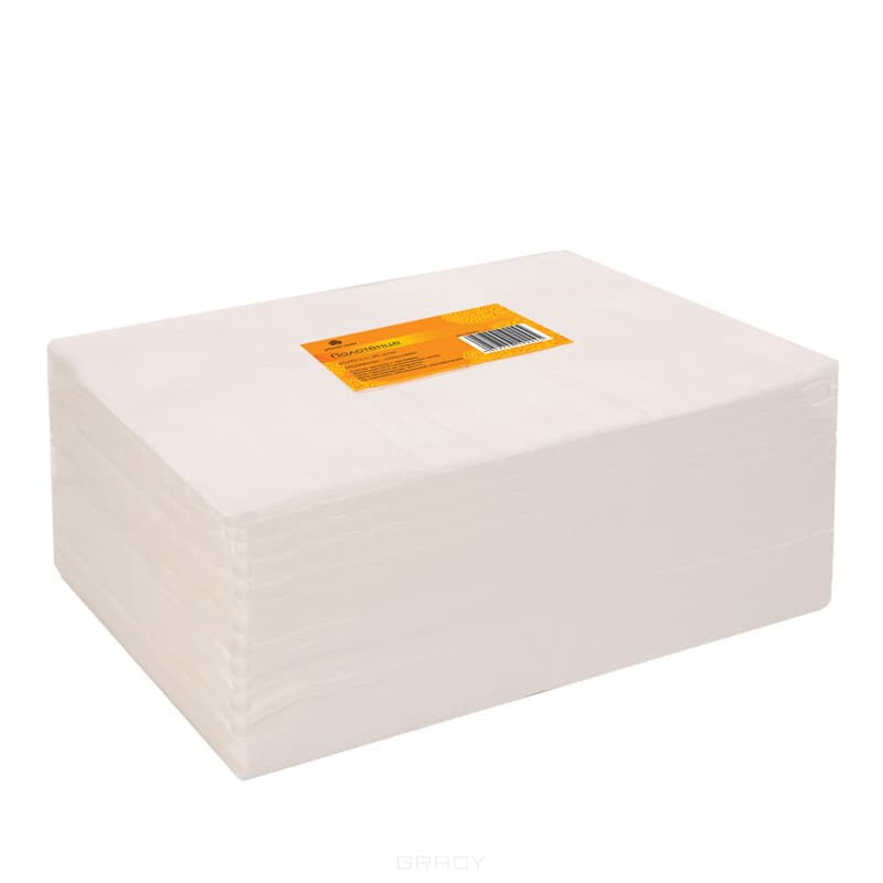 Planet Nails, Полотенце 45*90 см белое, 50 шт/рул.Одноразовая продукция для салонов красоты<br><br>