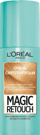 L'Oreal, Краска спрей в баллончиках Magic Retouch, 75 мл (7 оттенков) 9 Очень светло-русый краска для авто в баллончиках