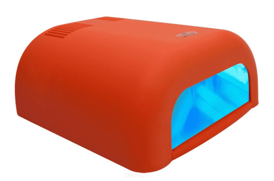 Planet Nails, УФ лампа 36W ASN Tunnel Велр (3 цвета), 1 шт, ЗеленаУФ лампы 36 W<br><br>